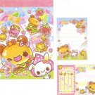 Kamio Japan Kuma Burger Mini Memo Pad