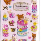 San-X Japan Rilakkuma Desserts Sticker Sheet #1 (p)