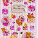 San-X Japan Rilakkuma Desserts Sticker Sheet #3 (lp)
