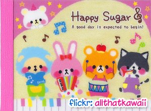 Kamio Japan Happy Sugar Mini Memo Pad #2