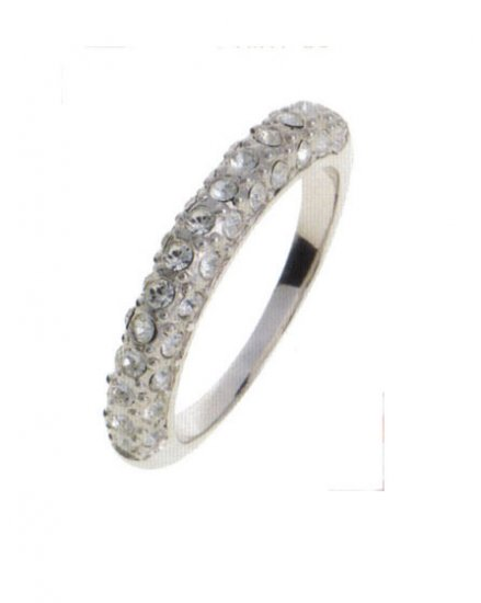 Lady Swarovski Crystals Ring Jewelry Jewellery NEW - RING DIVA SCHMAL
