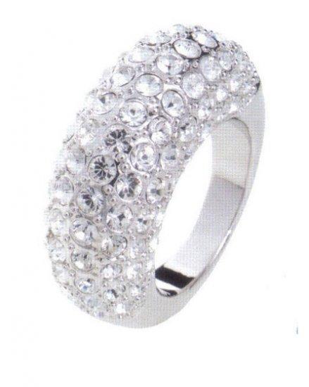 Lady Swarovski Crystals Ring Jewelry Jewellery NEW - RING Heart DIVA