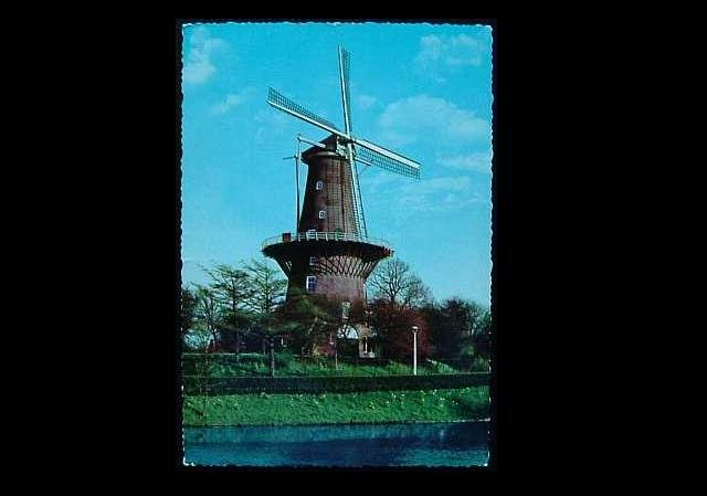 UNKNOWN WINDMILL POSTCARD FROM THE UNITED STATES