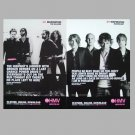 THE KILERS and RAZORLIGHT HMV STUDENT DISCOUNT ADVERTISING POSTCARDS
