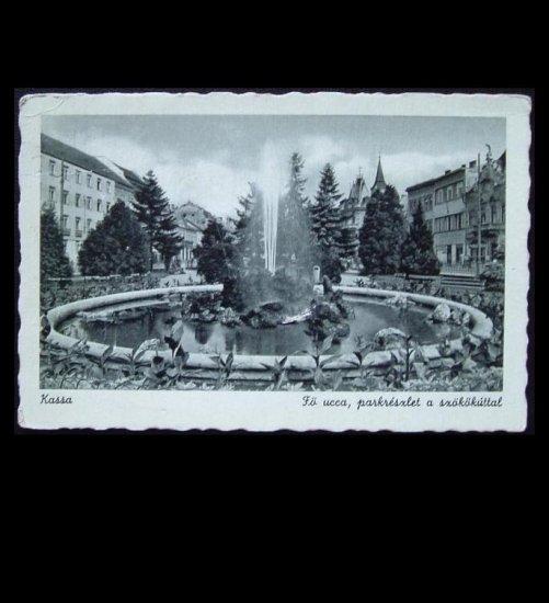 VINTAGE WORLD WAR TWO WWII KASSA HUNGARY POSTCARD 1941