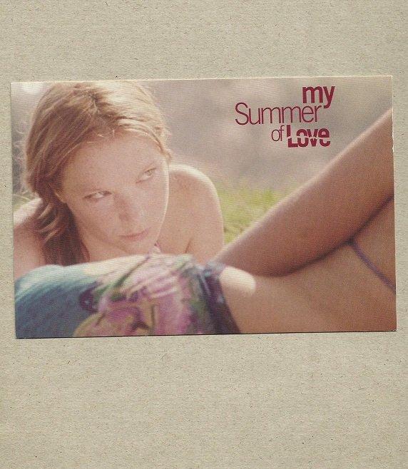 MY SUMMER OF LOVE NATALIE PRESS PADDY CONSIDINE EMILY BLUNT PROMOTIONAL POSTCARD
