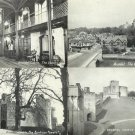 ARUNDEL CASTLE FOUR BLACK AND WHITE POSTCARDS