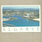 ALGARVE PORTUGAL POSTCARD DATED 2002 with OWL STAMP