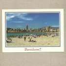 BENIDORM SPAIN SPANISH POSTCARD WITH STAMP DATED 2007
