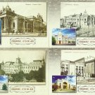 SET FOUR POSTCARDS 475 YEARS OF CHISINAU KISHINEV CAPITAL OF MOLDOVA