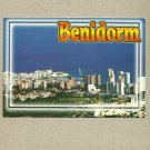 BENIDORM SPAIN SEA VIEW NEW UNPOSTED SPANISH POSTCARD