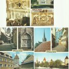 TALLINN ESTONIA THREE INTOURIST MULTIVIEW CARD 1986