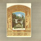 VINTAGE 1987 YALTA FIELD OF FAIRY TALES UKRAINE POSTCARD FOLDER OF TEN POSTCARDS