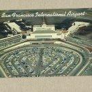 VINTAGE SAN FRANCISCO INTERNATIONAL AIRPORT POSTCARD