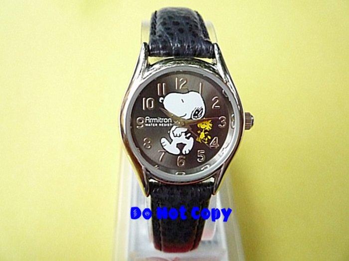NEW Vintage Armitron Snoopy & Woodstock Peanuts Watch
