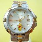 NEW Disney Winnie The Pooh with Date 2-Tone Watch HTF