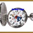 BRAND NEW Disney Goofy Rotates Colibri Pocket Watch HTF