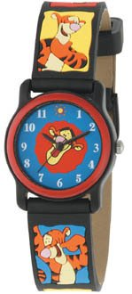 BRAND NEW Disney Tigger 3D Colorful Band Watch HTF