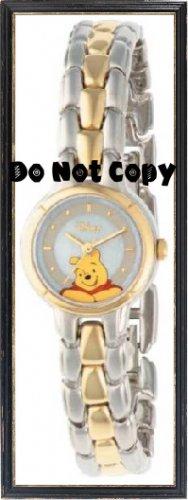 BRAND NEW Disney Winnie The Pooh 2-Tone Watch HTF MU0150