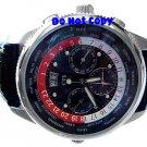 NEW Mens CTI 21J Swiss Moonphase World Timer AUTOMATIC  Watch
