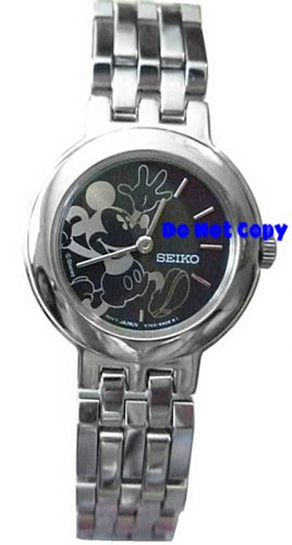 NEW Ladies Disney Mickey Mouse PIE-EYED SEIKO Watch