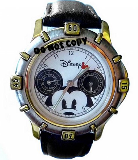 NEW Disney Mickey Mouse Multifuction Ears Watch Vintage