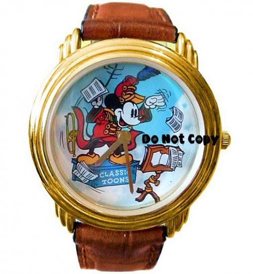 NEW Vintage Disney Mickey Mouse Magic Music Days Unisex Watch