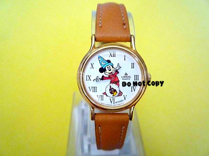 NEW Disney/Lorus Mickey Mouse Sorcerer Fantasia Watch HTF