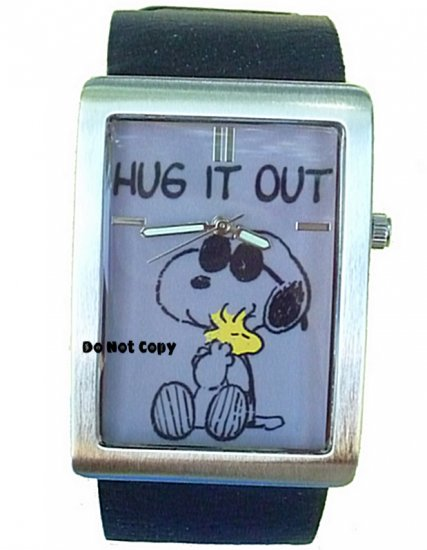 NEW Mens Armitron Snoopy & Woodstock Peanuts Watch HTF