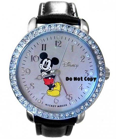 BRAND NEW Disney Mickey Mouse Rhinestones Watch HTF