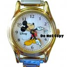 NEW Disney Seiko Mickey Mouse Italian Charm Date Watch