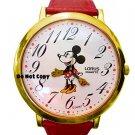 Vintage NEW Disney Lorus Minnie Mouse Large Watch HTF