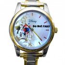 Disney Mickey Mouse Goofy Donald Italian Charm Watch