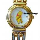 BRAND NEW Disney Winnie The Pooh Gold Watch HTF Rarest