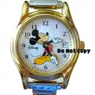 NEW Disney/Seiko Mickey Mouse Italian Charm Date Watch