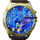 NEW Disney Lorus Mickey Minnie Mouse Musical Watch HTF