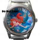 NEW Disney Little Mermaid Ariel Italian Charm Watch HTF