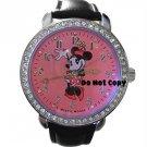 BRAND NEW Disney Minnie Mouse Rhinestones/Jewels Watch
