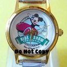 NEW Disney Mickey Mouse Ride & Show Italian Charm Watch