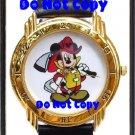 BRAND NEW Disney Mickey Mouse Fireman Firefighter Watch
