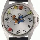 NEW Disney Donald Duck Floating Icons Dial Watch HTF