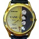 NEW Men's Armitron Snoopy and Friends Peanuts Watch HTF