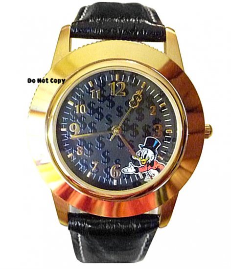 BRAND NEW Disney Uncle Scrooge Interchangeable Watch