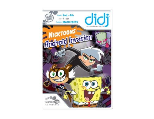NIP Didj Nicktoons Android Invasion Leapfrog Game