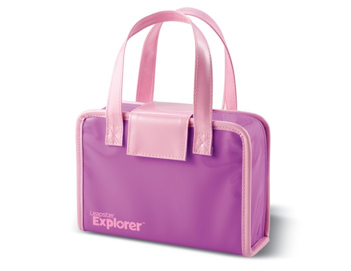 NEW Leapster 2 Explorer System Game Pink Carrying Case