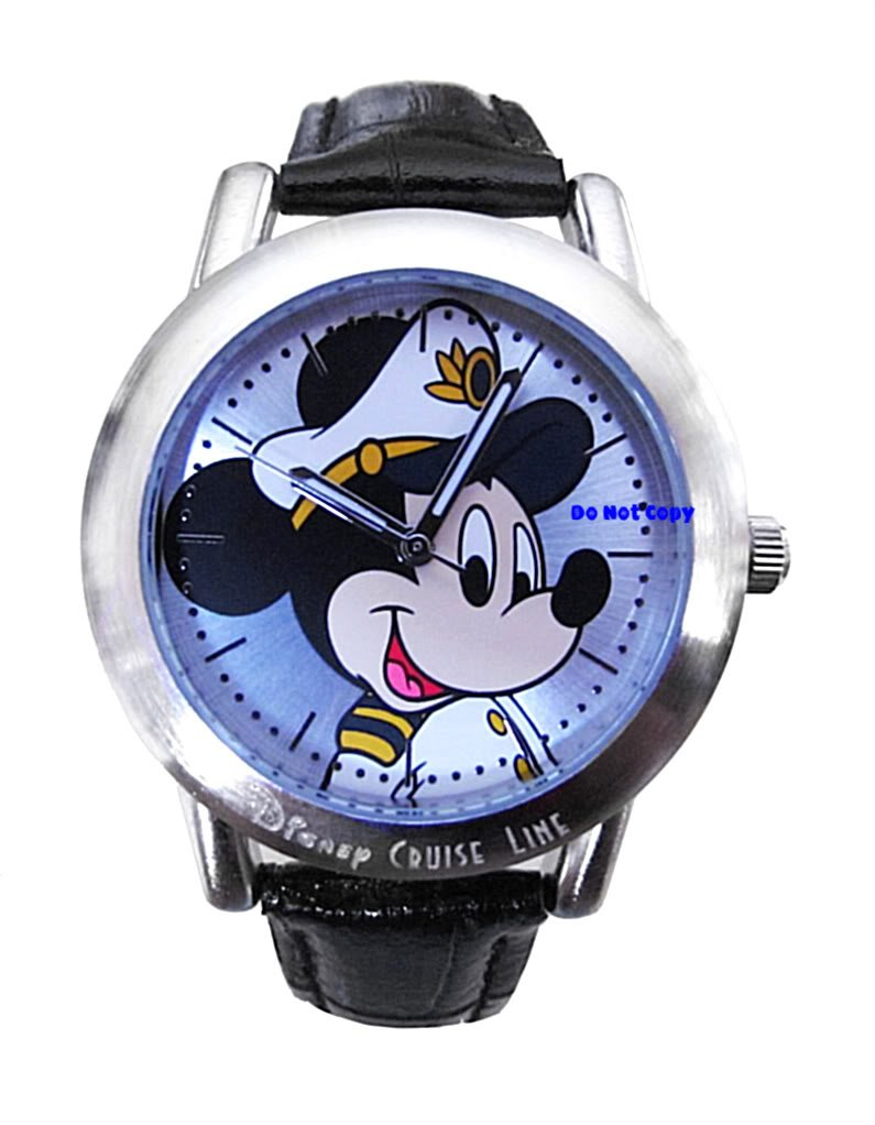 BRAND NEW Disney Captain Mickey Mouse Cruise Watch HTF