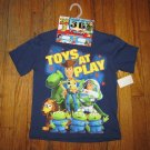 NEW Disney Pixar Toy Story 3 Navy Blue T-shirt Size 4/5