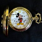 NEW Disney Mickey Mouse Musical Pocket Watch HTF