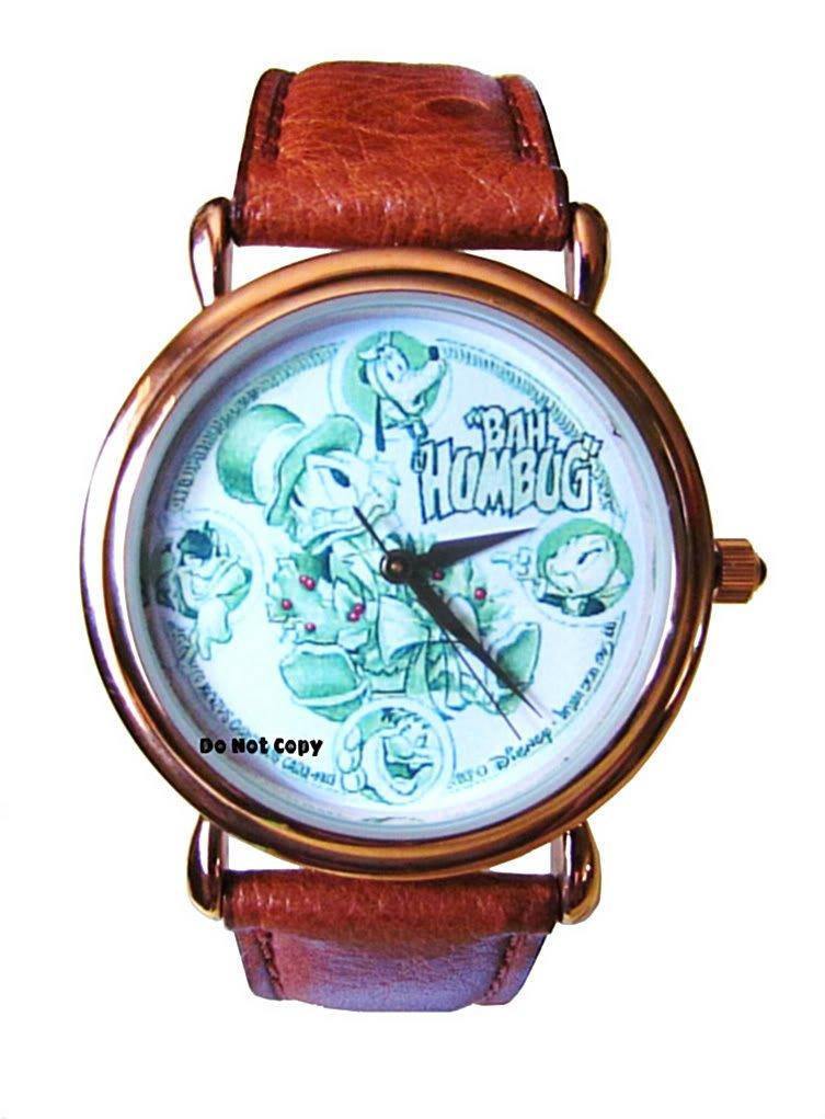 NEW Disney Uncle Scrooge Jiminy Pluto Humbug Watch HTF