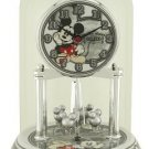 NEW Disney Mickey Mouse Collectible Anniversary Pendulum Clock HTF